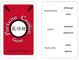 Fortune Cookie Game Four Language Sampler - English, Spanish, Latin, Hebrew