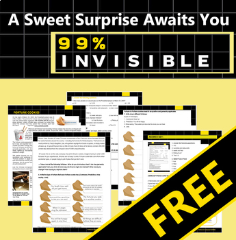 Fortune Cookies -> 99% Invisible