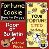 Fortune Cookies: Back to School Bulletin Board or Door Déc