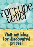 Adding Integers Fortune Teller #4