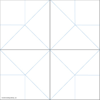 graphic relating to Printable Cootie Catcher Template titled Fortune Teller / Cootie Catcher Blank Editable Template