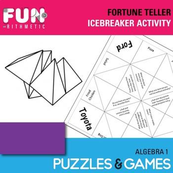 Fortune Teller Icebreaker Activity