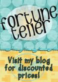 Multiplying Integers Fortune Teller #5