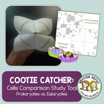 Cells Cootie Catcher - Distance Learning