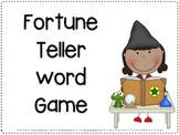 Fortune Teller Fry Words Game