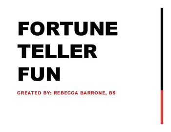 Fortune Teller for Articulation and Language