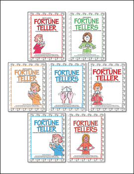 Fortune Teller for Earth Science ♥ BUNDLE ♥