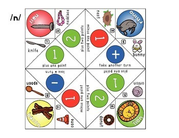 Fortune Tellers Game for Early Developing Articulation Sounds