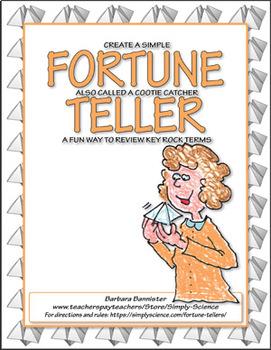 Fortune Teller for Rocks