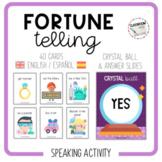 FORTUNE TELLING - speaking cards [English & Spanish]
