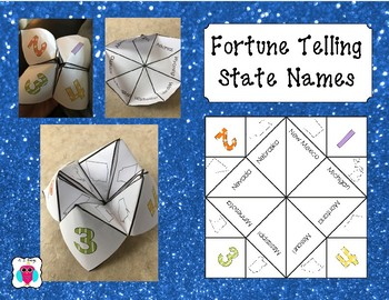 Fortune Telling State Names
