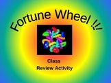 Fortune Wheel for the Class