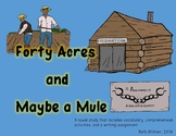 Forty Acres and Maybe a Mule