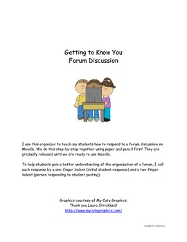 Forum Discussion Organizer