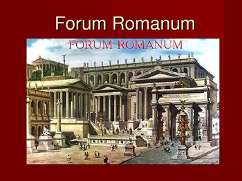 Forum Romanum PowerPoint Slideshow