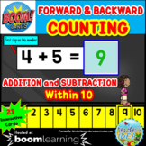 Forward & Backward Counting Addition and Subtraction Numbe