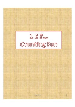 Forward Counting Practice Sheet