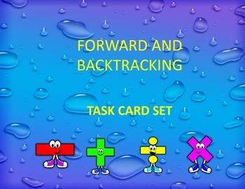 Forward and Back Tracking: Solving unknown pronumerals in algebraic expressions