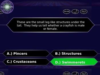Foss Crayfish Review Game