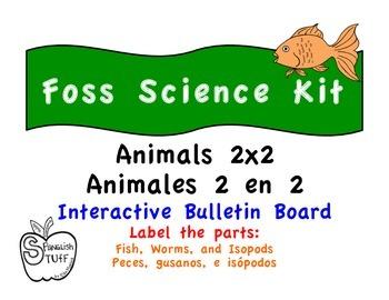 Foss Kit: Animals 2x2