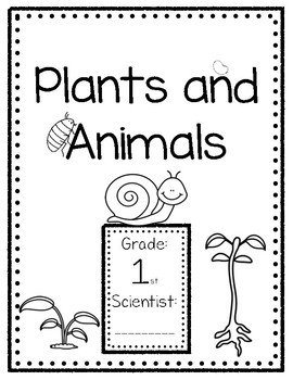 Foss Plants and Animals Interactive Notebook: 1st grade