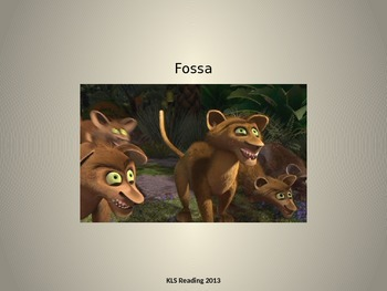 Fossa - endangered animal - power point - facts history in