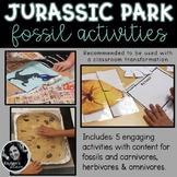 Fossil Activities Jurassic Park Dinosaur