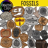 Fossil Clipart {Creative Clips Clipart}