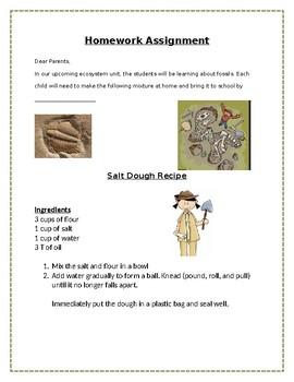 Fossil Dough Recipe