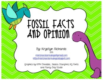 Fossil Facts and Opinion