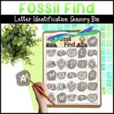 Fossil Find Letter Matching Activity