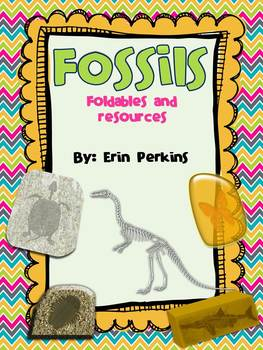 Fossils Foldables and Resources