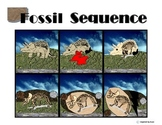 Fossil Formation Sequence Board/Cut & Paste for Autism