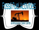 Fossil Fuel and Natural Resource Activities & Task Cards