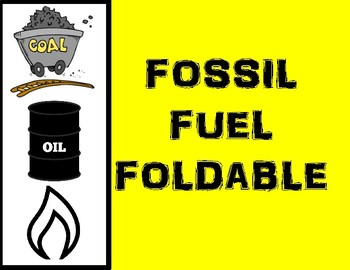 Fossil Fuel foldable