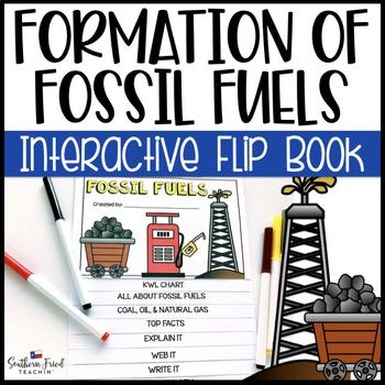 Fossil Fuels Interactive Flip Book