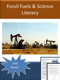 Sub Plan - Fossil Fuels