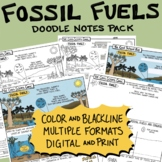 Fossil Fuels Science Comic