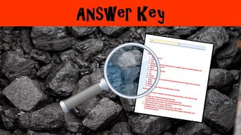 Fossil Fuels Lesson with Power Point, Worksheet, and Review Sheet