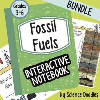 Fossil Fuels Interactive Notebook Bundle by Science Doodles