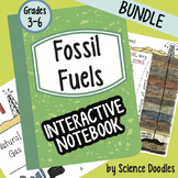 Doodle Notes - Fossil Fuels Interactive Notebook Bundle by Science Doodles