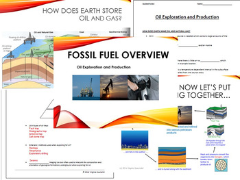 Fossil Fuels: Oil Exploration & Production PowerPoint and