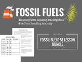 Fossil Fuels Reading (Includes Reading Activity)
