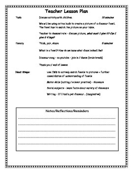 Fossil Lesson Plan
