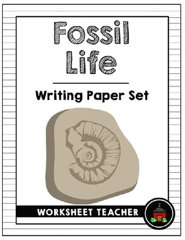 Fossil Life Writing Paper Set