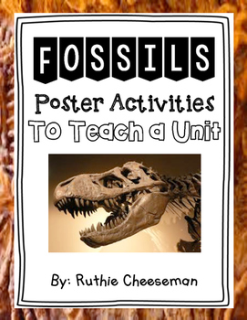Fossil Poster Activities