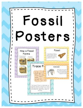 Fossil Posters