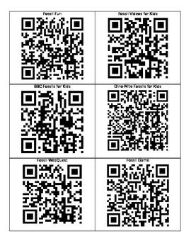 Fossil QR Codes