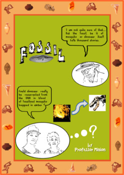 Fossil - Science facts, Printables & Task cards
