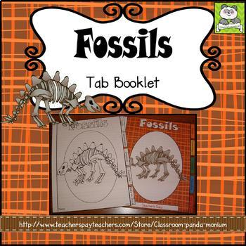 Fossils Tab Booklet